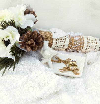 Dodatki na ślub i przyjęcie weselne.