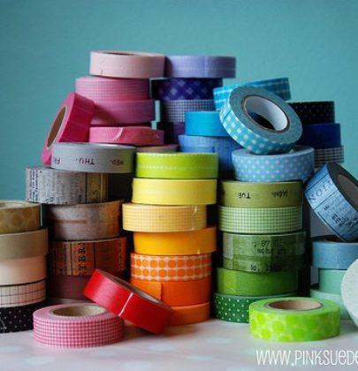 Washi Tape – kreatywna taśma na ślubie i weselu!