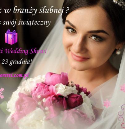 Odbierz swój prezent od Amoretti Wedding Show!
