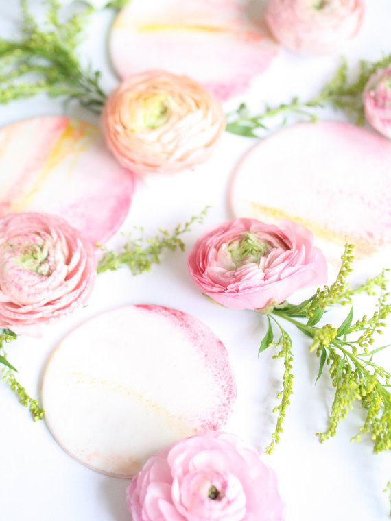 pastelowe dekoracje