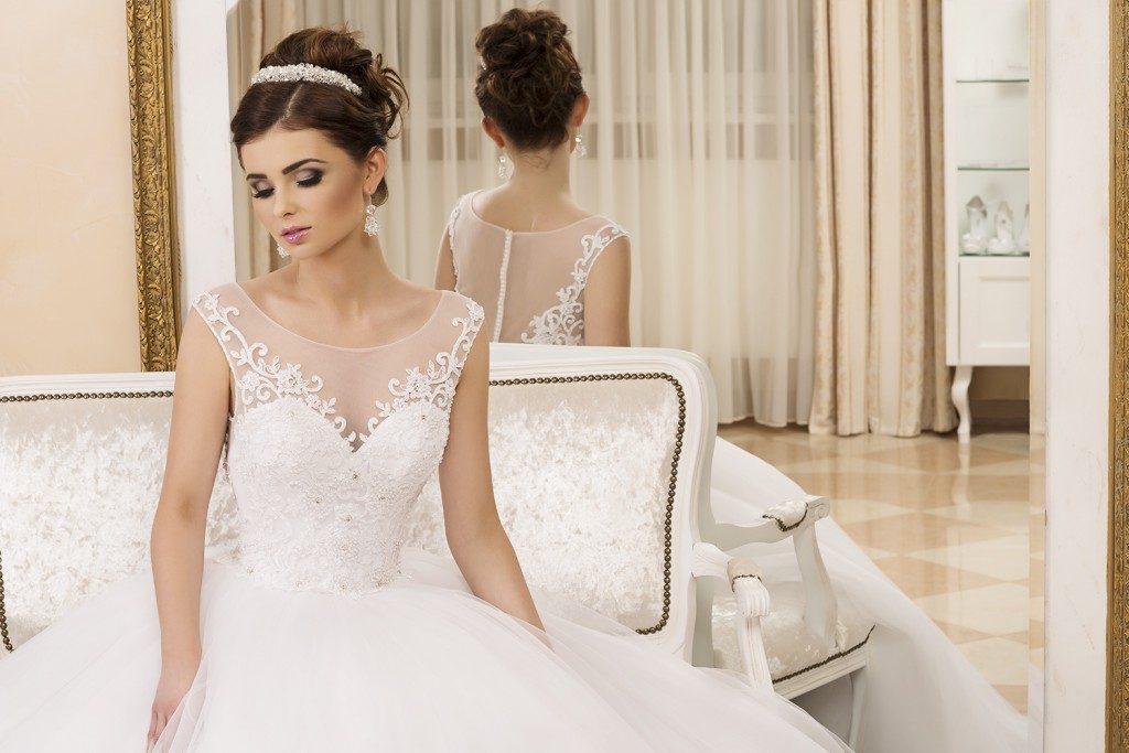 przykłady makijażu ślubnego