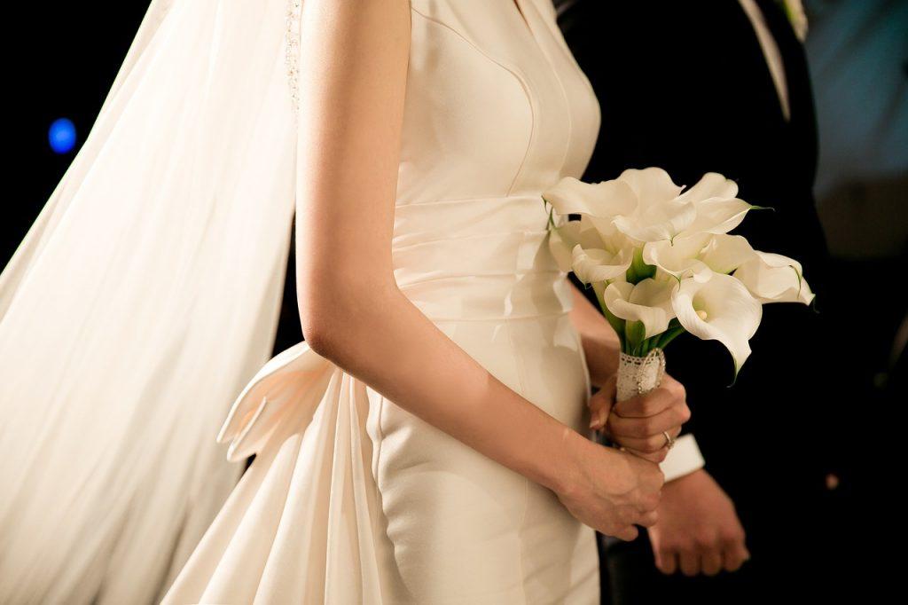 bukiet ślubny w stylu boho