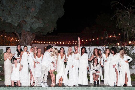 stroje gości weselnych