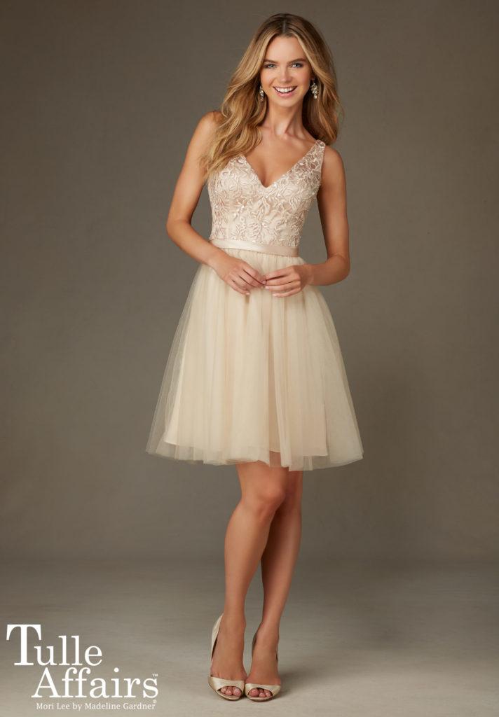 Sukienka Style 133 Morille