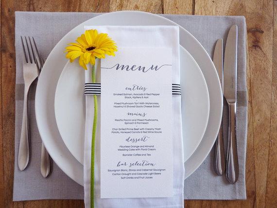 menu na wesele