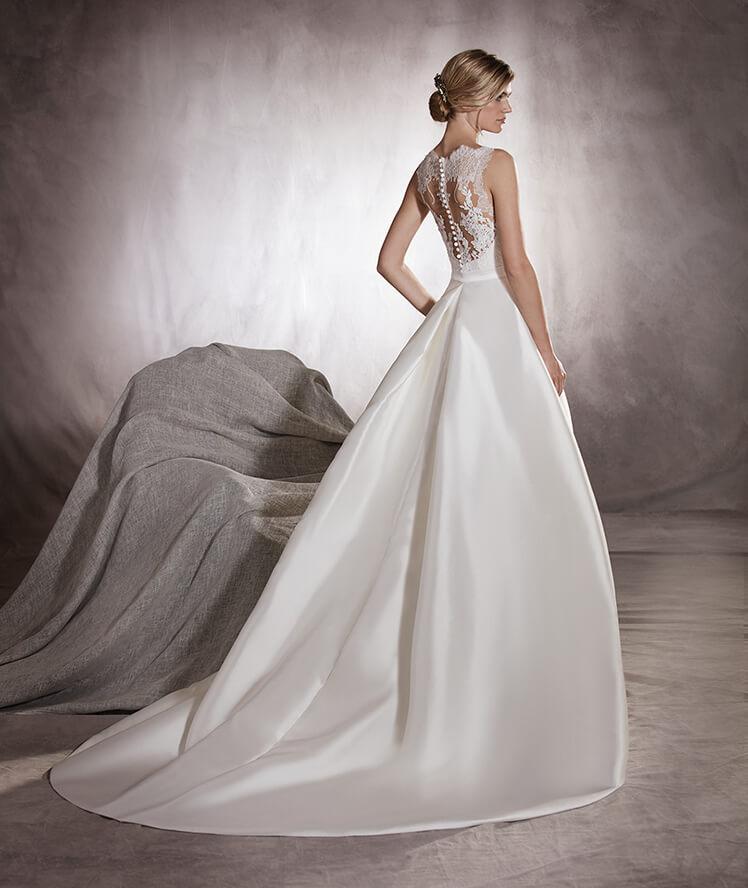 suknia ślubna figura jabłko