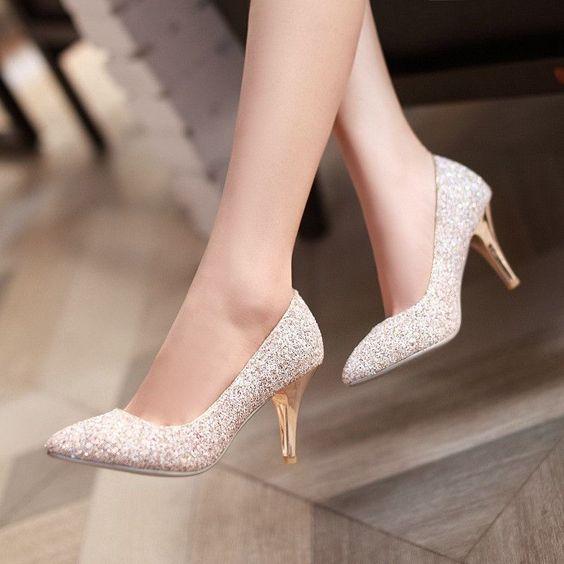 buty ślubne niższy obcas