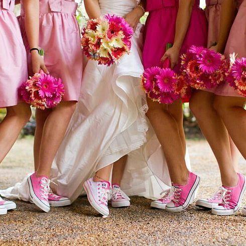sportowe buty ślubne