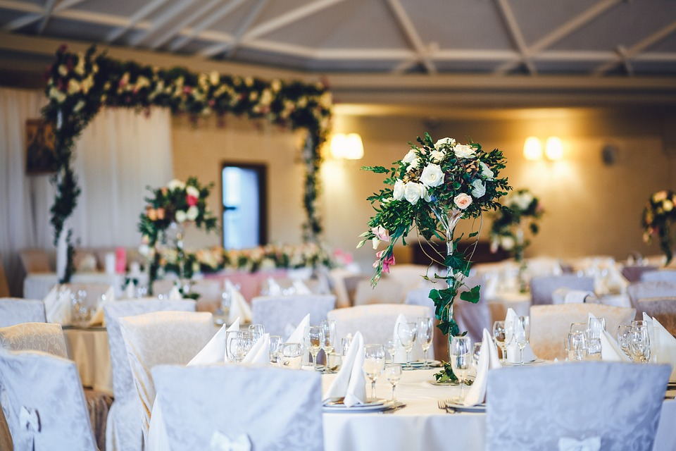 style aranżacji ślubu i wesela