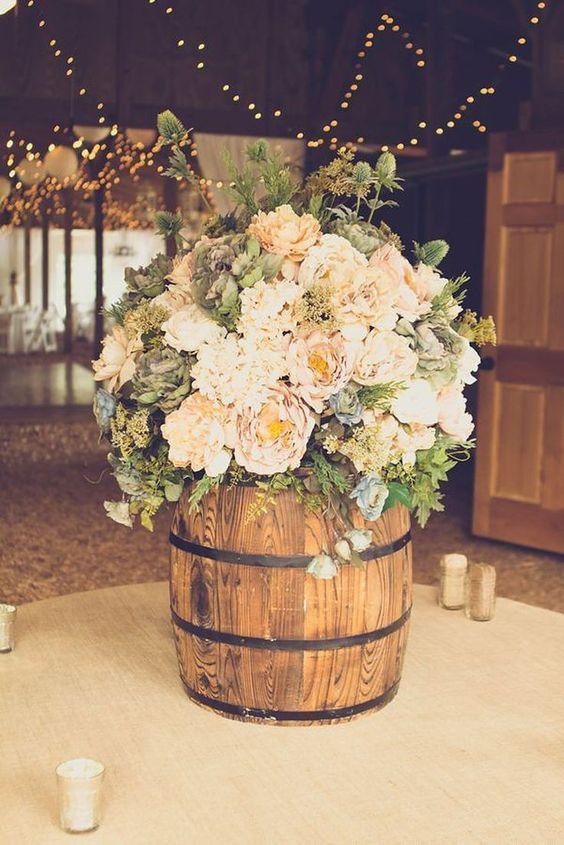 rustykalny motyw wesela
