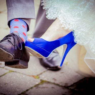 Wielki błękit, czyli modne propozycje sukien ślubnych dla wielbicielek mody! Błękitna suknia ślubna!