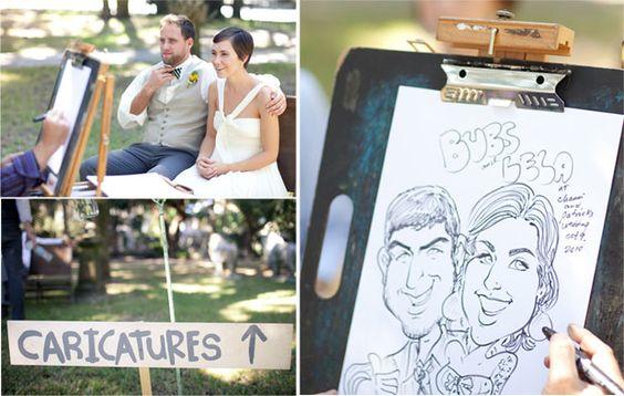 Karykaturzysta na wesele