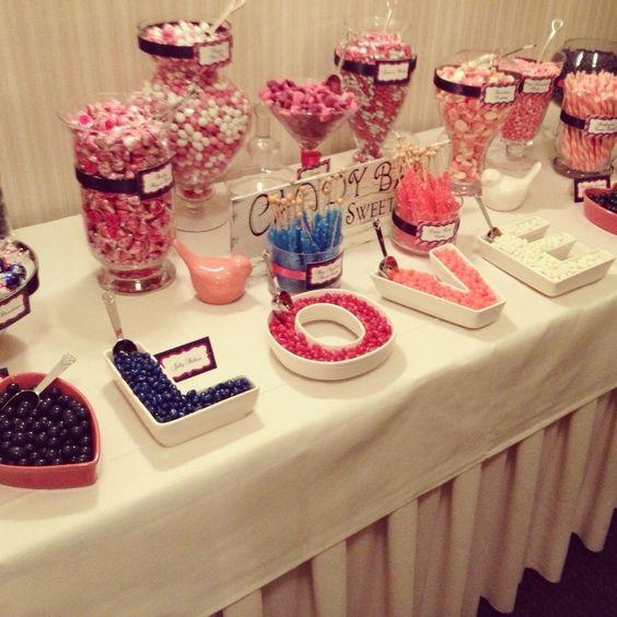 Stół tematyczny na wesele