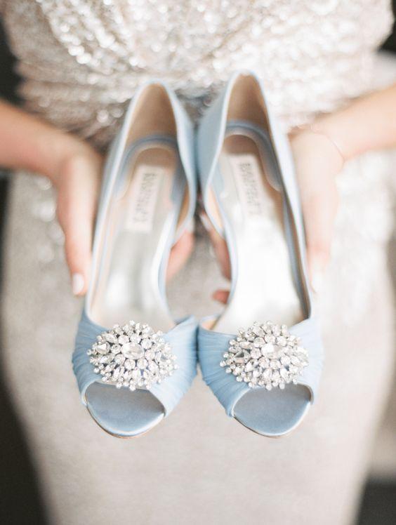 błękitne dodatki ślubne