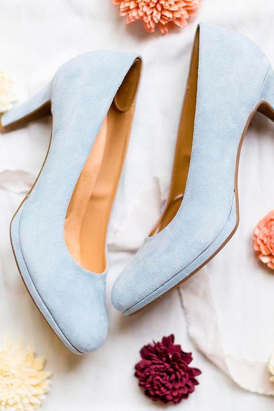 buty ślubne na obcasie