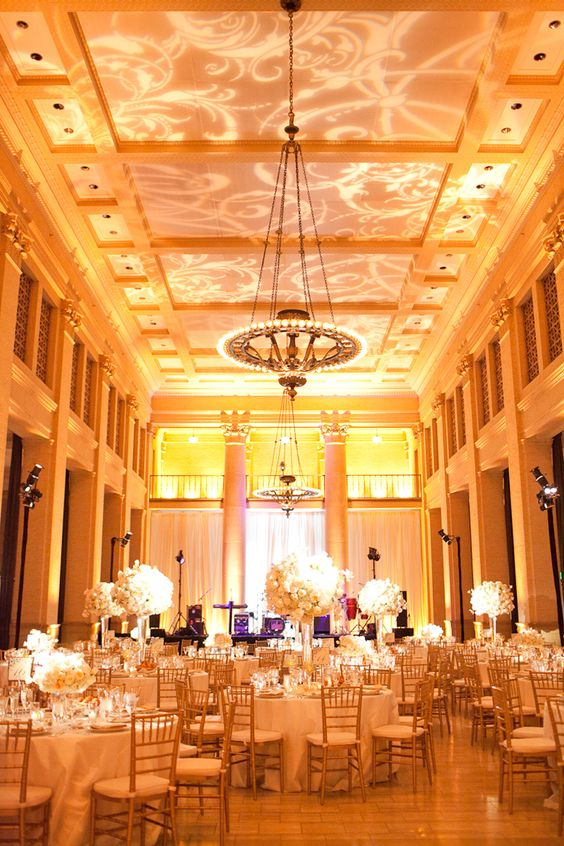 Elegancka sala weselna