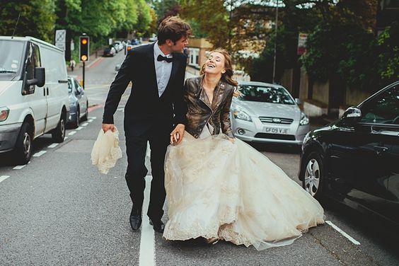 Stylizacje ślubne w stylu rockowym