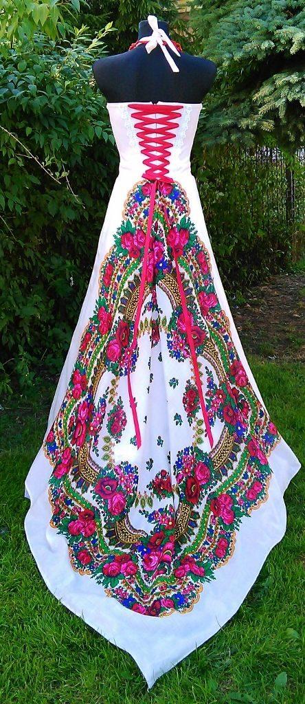 folkowa stylizacja ślubna