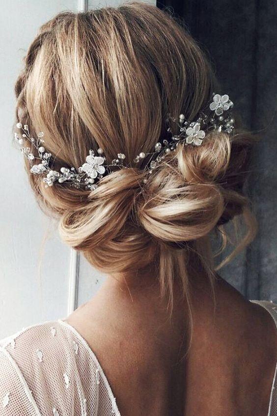rozpuszczona fryzura ślubna