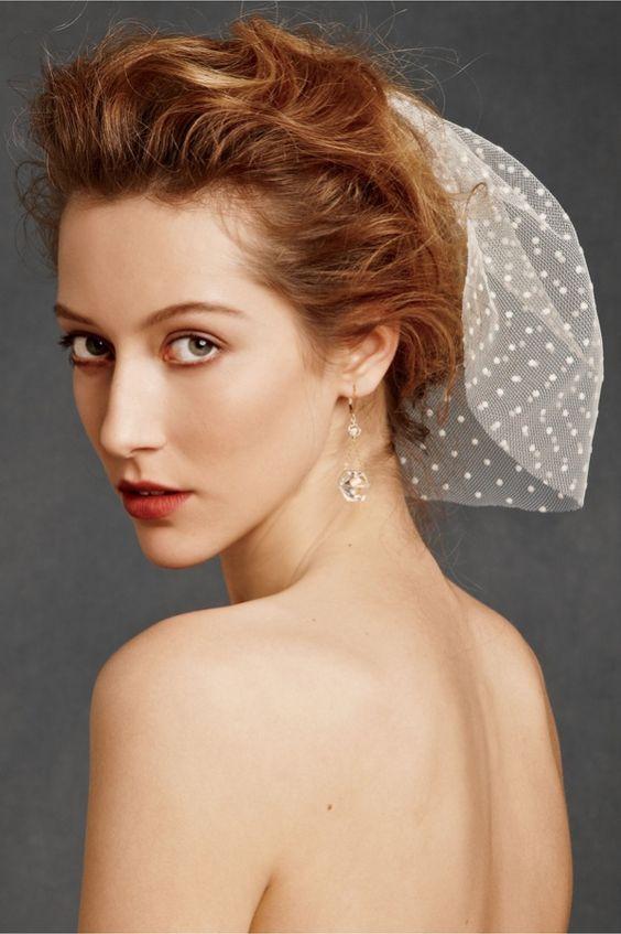 Krótkie włosy na ślub
