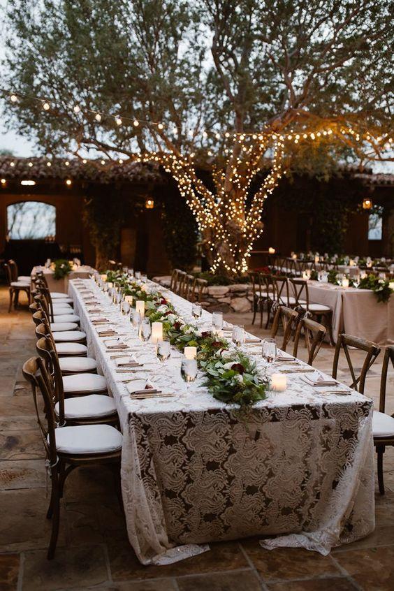 romantyczne dekoracje ślubne
