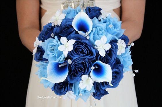 błękitny kolor przewodni