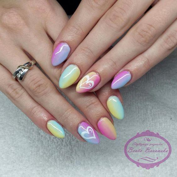 manicure Panny Młodej