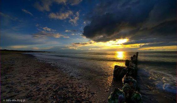podróż poślubna nad morzem Bałtyckim