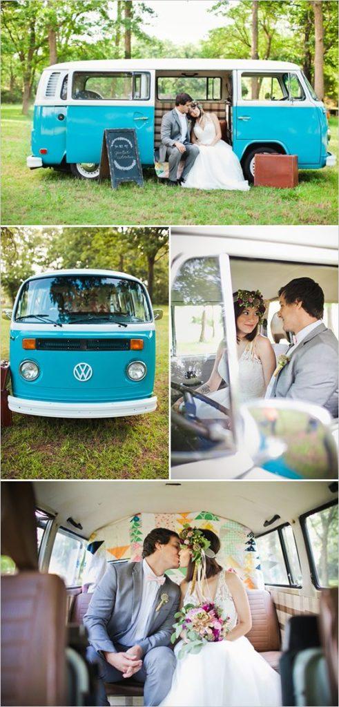 Volskwagen ogórek do ślubu
