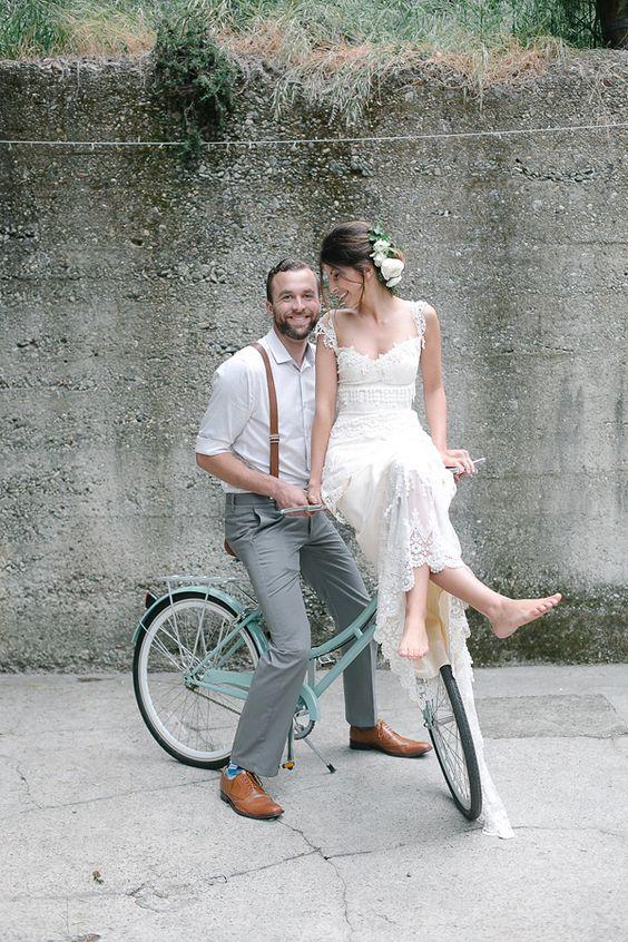 rowerami do ślubu