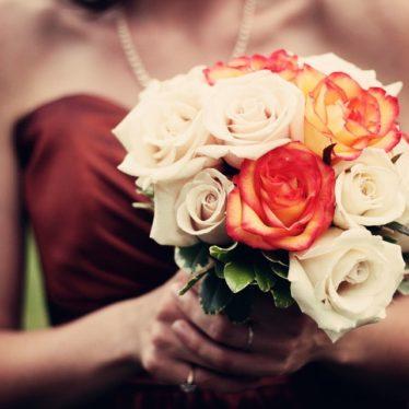 Stylowe wesele w kolorze bordo