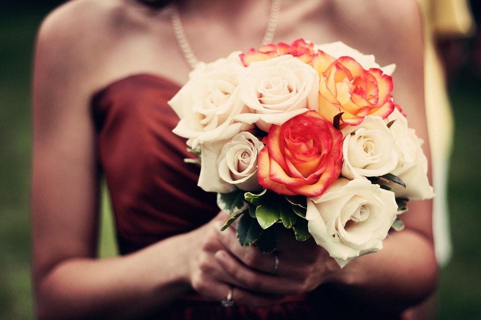 wesele w kolorze bordo