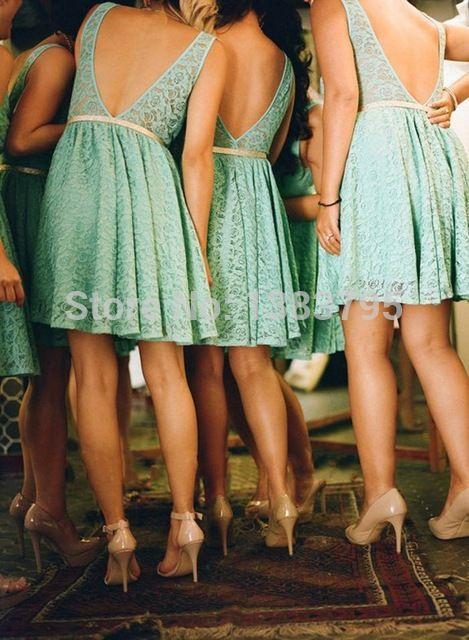 Krótkie sukienki dla druhen