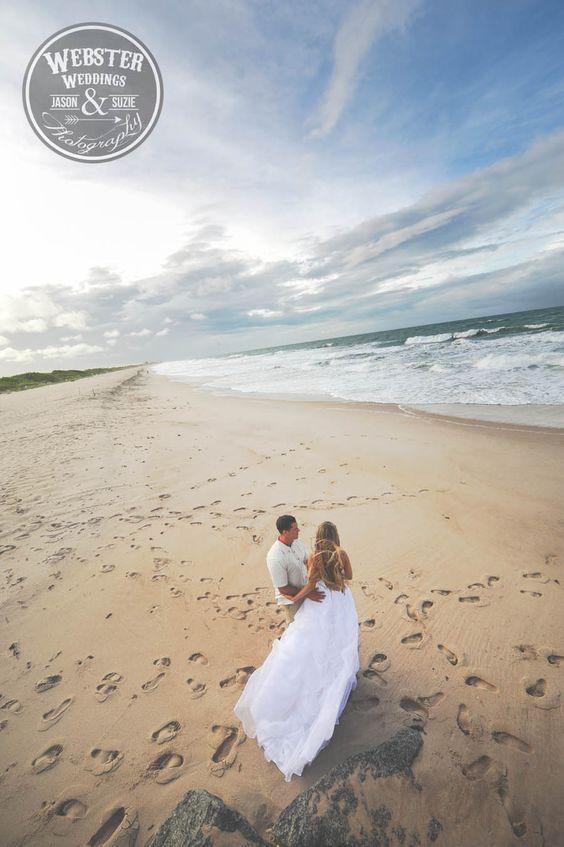Sesja poślubna na plaży