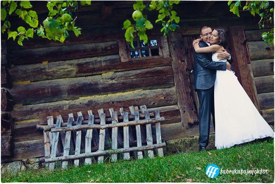 Sesja poślubna w skansenie