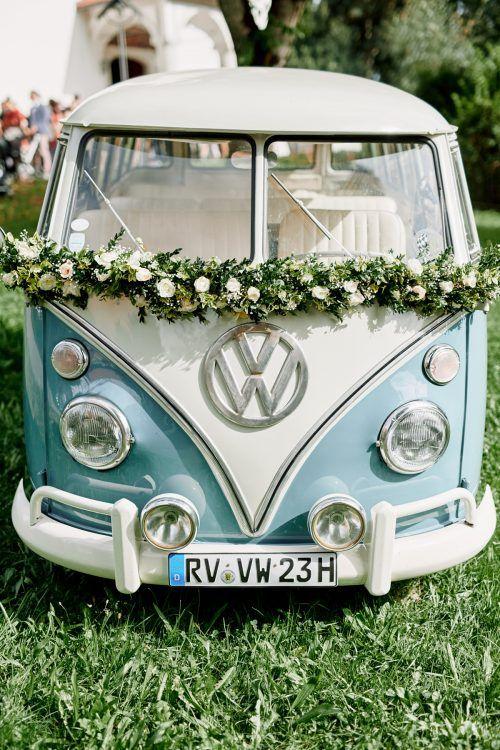 auto ślubne w stylu boho