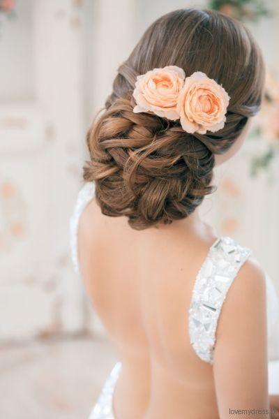 Kwiat we włosach