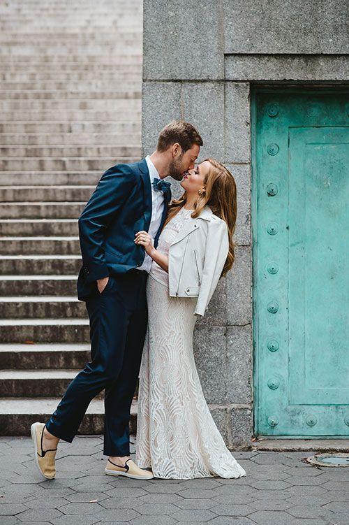 ramoneska do ślubu