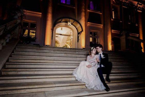 przyjęcie weselne w pałacu