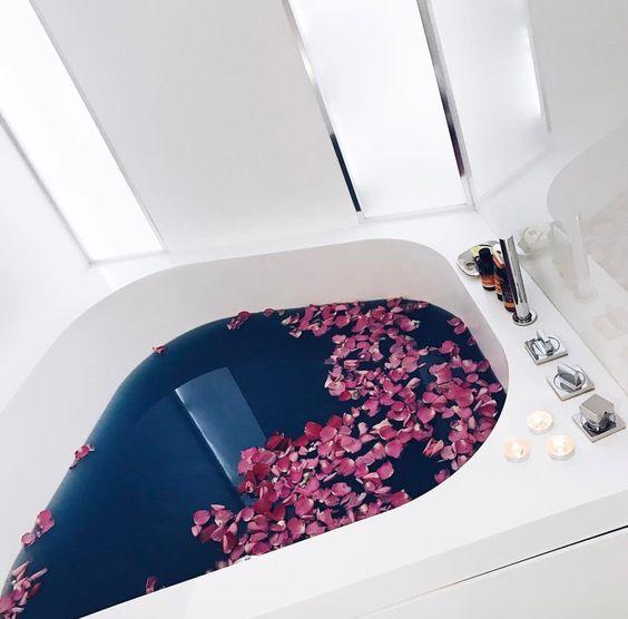 aromatyczna kąpiel na przedślubny stres