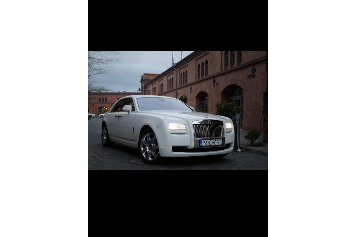 Rolls Royce Ghost jedyny biały w Polsce