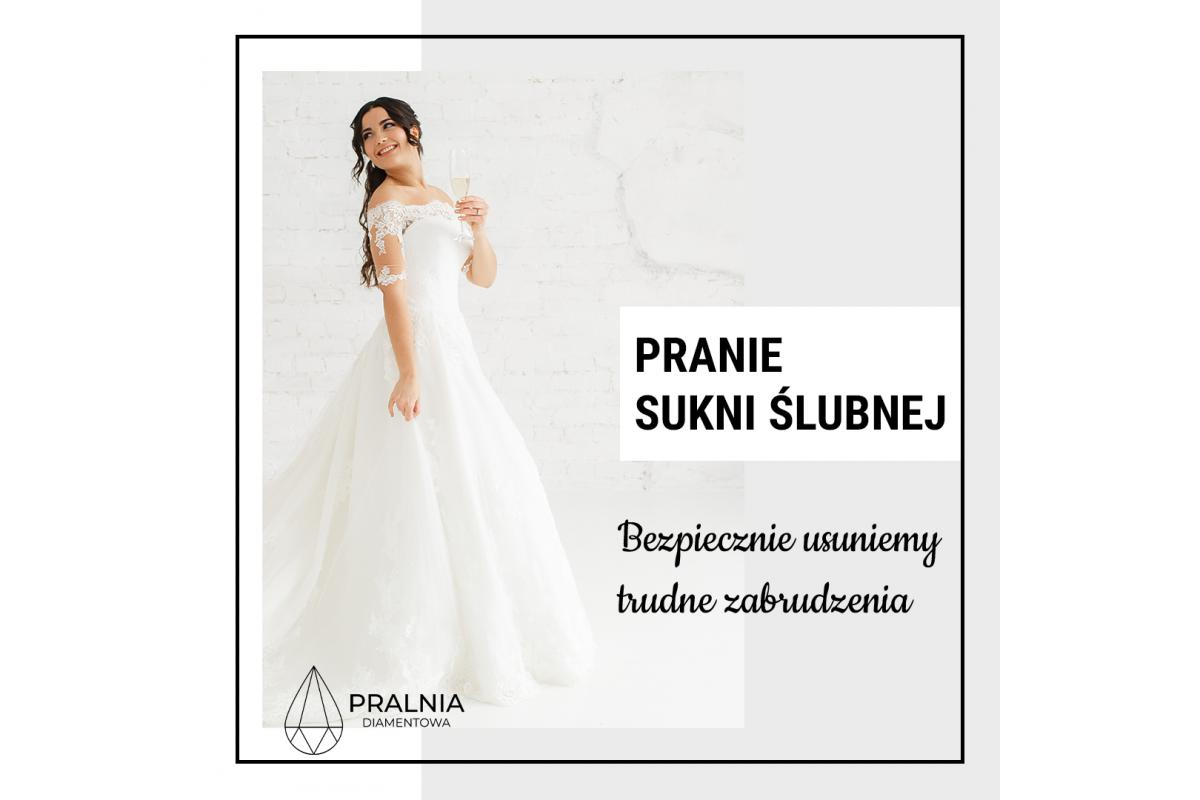 Pranie sukni ślubnej i garnituru ślubnego - bezpiecznie i skutecznie